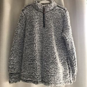 NWOT Soft Teddy Pullover